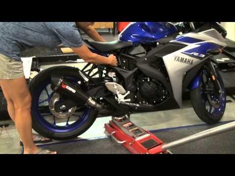 Yamaha R3 JRI Shock Install - Removing and reinstalling rear Shock  Hardracing