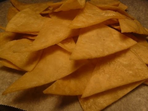 How to make TORTILLA CHIPS - Semi-Homemade fresh TORTILLA CHIPS