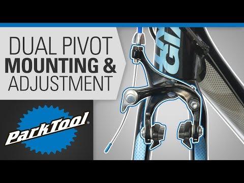 Brake Caliper Mounting & Adjustment - Dual Pivot