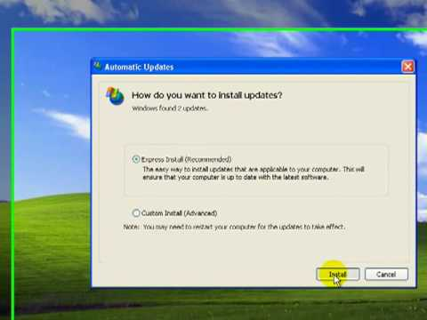 Windows Update and Security Setup