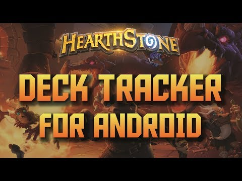 Android Hearthstone Deck Tracker  - Tracking Stats and Cards on Your Phone!