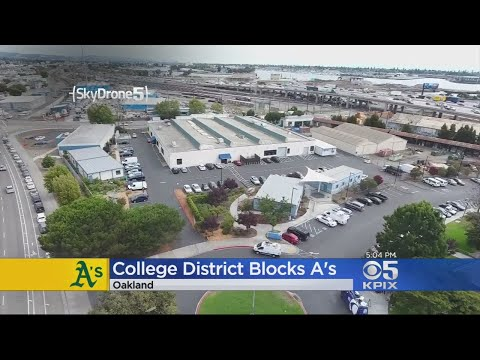 New Oakland A's Stadium Blocked By Community College