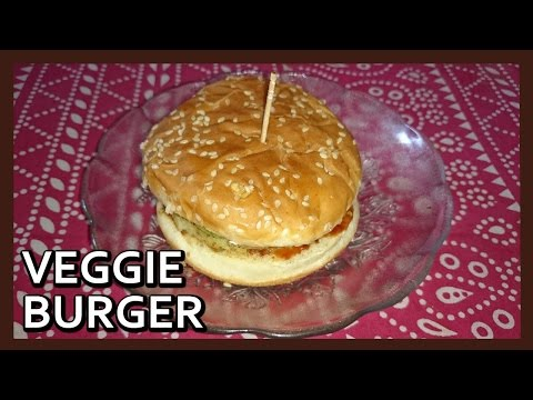 Homemade Veggie Burger | Healthy Veg Burger for Kids by Healthy Kadai