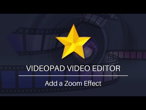 VideoPad Video Editing Tutorial   How to Add a Zoom Effect