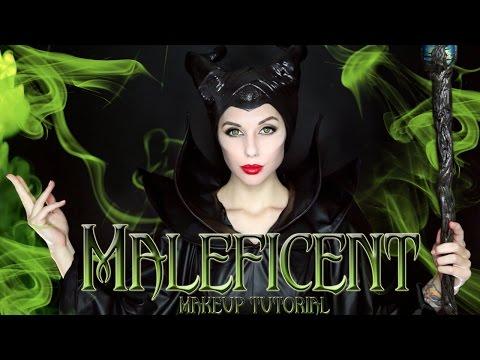 MALEFICENT MAKEUP TUTORIAL | Halloween 2014