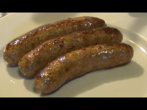 Cooking Italian Sausage - SIMPLE & EASY at HOME!