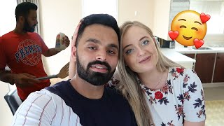 Valentines Day Vlog | MY HUSBAND COOKS FOR ME | GOING THROUGH OUR MEMORY BOX