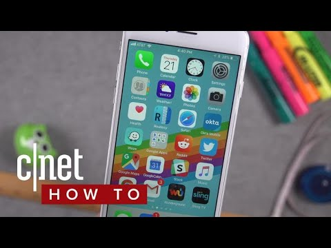 Speed up iOS 11 on older iPhones (CNET How To)