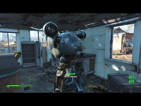 Fallout 4 Codsworth actually says characters last name