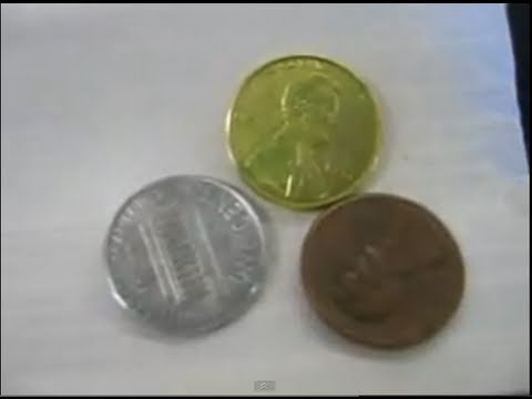 Make Copper, Silver and Gold Pennies