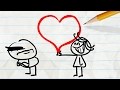 State Of The Heart Valentines Day Pencilmation Cartoon Plus More Episodes