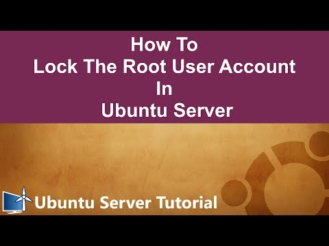 How To Lock The Root User Account In Ubuntu Server