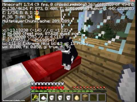 Minecraft 1.7.4   Kitty Cat [3]