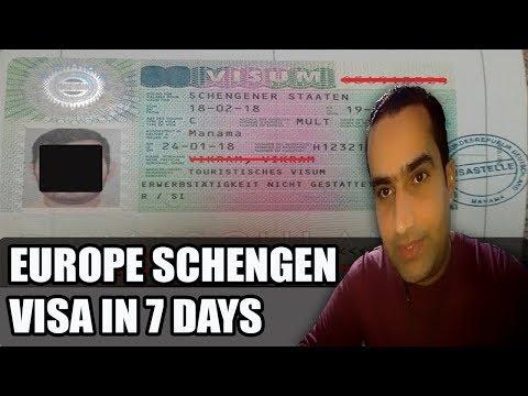 Get Schengen Visa In Few Days