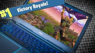 $370 vs $5000 Fortnite Laptop Challenge