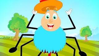 Incy Wincy Spider Nursery Rhymes And Kids Songs | Cartoon Videos from Kids Tv Channel
