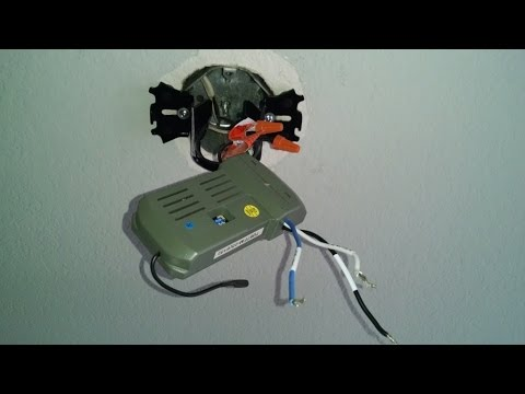Home repair ceiling fan remote and light kit by froggy
