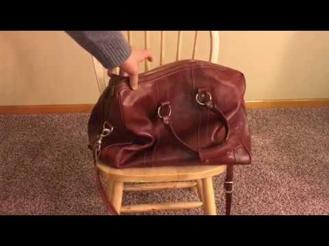 1 year update: Floto Roma Duffle Saddle Brown Italian Leather Weekender Travel Bag