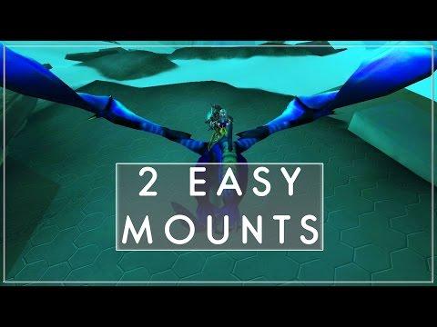 How To Get Twilight Drake & Black Drake   Very Easy Mounts (World of Warcraft)