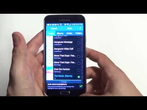 Samsung Galaxy S5: Set Any Song As Your Ringtone - Fliptroniks.com