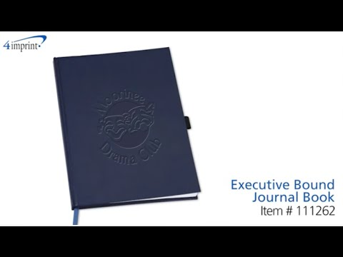 Executive Bound Journal Book - Promotional Products