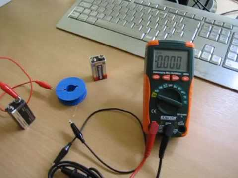 How to test the internal resistance of a battery