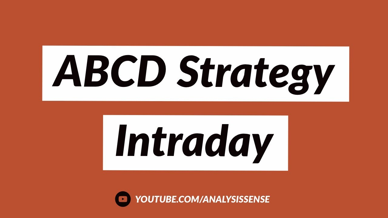 ABCD Strategy   Intraday   Price Action