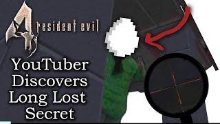 Resident Evil 4 NEW Easter Egg Discovered After 12 Years | Creepy Developer Guy