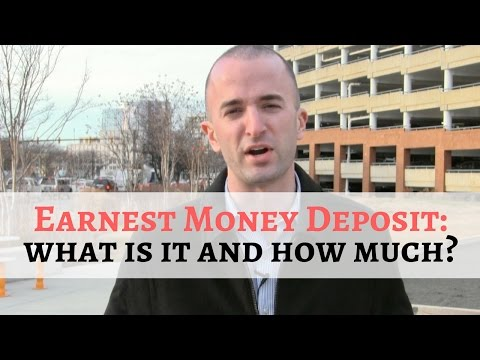 What is an Earnest Money Deposit in Real Estate? | Where Does the Earnest Money Go?