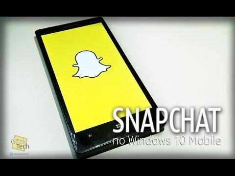 Como instalar o Snapchat no Windows 10 Mobile/Windows Phone com o Casper - [Video Tutorial]