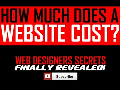 How Much Does a Website Cost? Presented by PhoenixWeb.Design (Phoenix Web Design Company)