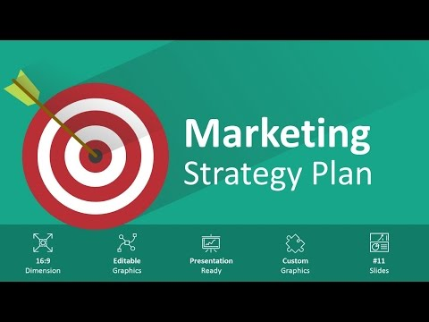 Marketing Strategy Plan Editable PowerPoint