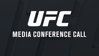 UFC Fight Night: Bisping vs Gastelum - Media Conference Call