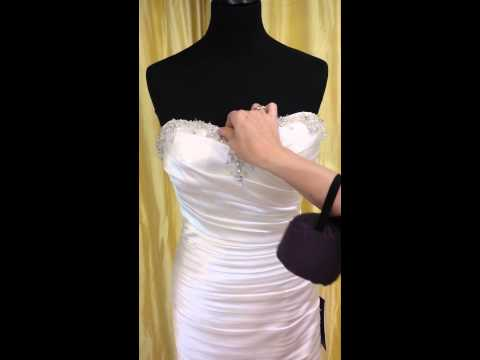 How To Bling Up A Wedding Dress