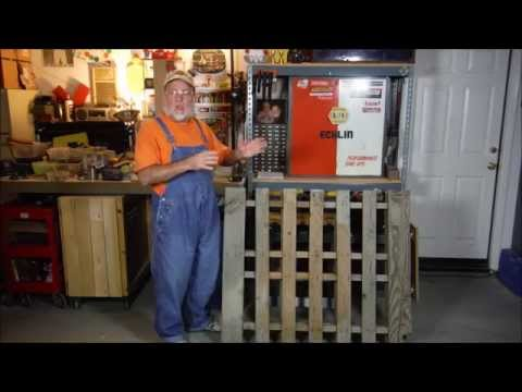 Easy DIY Yard Tool Storage from One Pallet - The DIY Magician