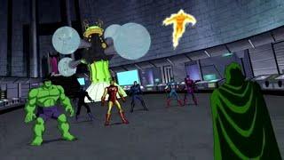 Download The Avengers & Fantastic 4 vs Doctor Doom Video