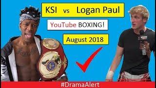Logan Paul vs KSI  Boxing CONFIRMED! (✔) #DramaAlert Jake Paul vs Deji , Snake vs Wolfieraps!