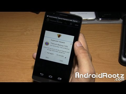 How to Root LG G3!