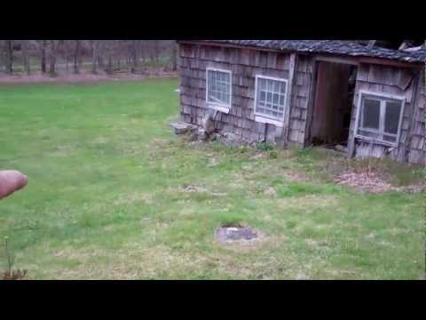 An old Chicken coop and outhouse tour