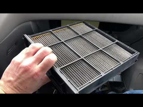 Honda Odyssey Change In Cabin Air Filter (2011 - 2017)