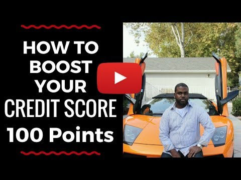 How To Raise Your Credit Score 100 Points In 90 Days Fast....