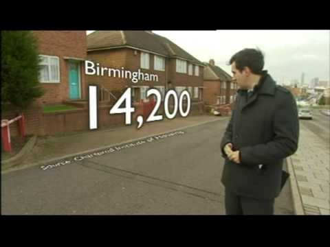 Birmingham: The capped of the Housing Benefit
