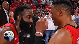 The Rockets betting on 'The Beard' and 'The Brodie' is starting to pay off - Chiney | Jalen & Jacoby