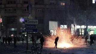 """Protestul deturnat """"Nu filma publicul că te sparg!"""" - 1 februarie 2017"""