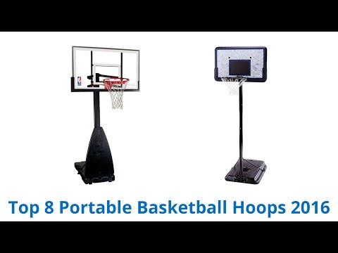 8 Best Portable Basketball Hoops 2016