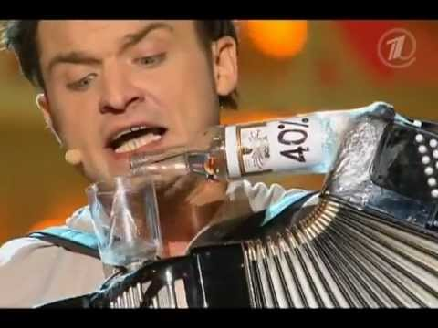 How Russians Play the Accordian, Vodka Style