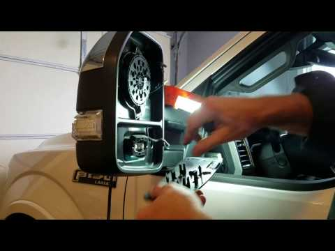 Ford  F-150, 2015, Drivers Side Mirror Repair