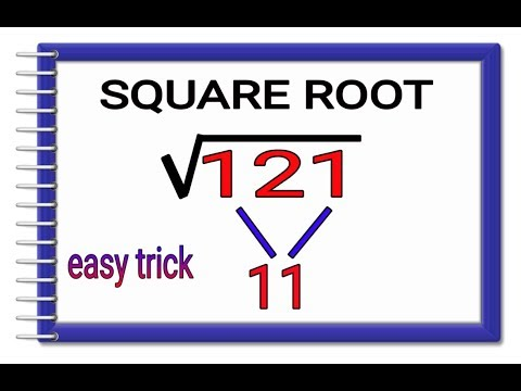 3 digit Square root  only in 3 seconds (Hindi) II वर्ग मूल निकले सिर्फ 3 सेकंड में II
