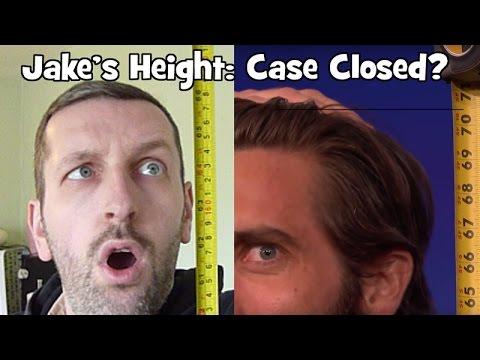 Jake Gyllenhaal's Height - Mystery Solved?