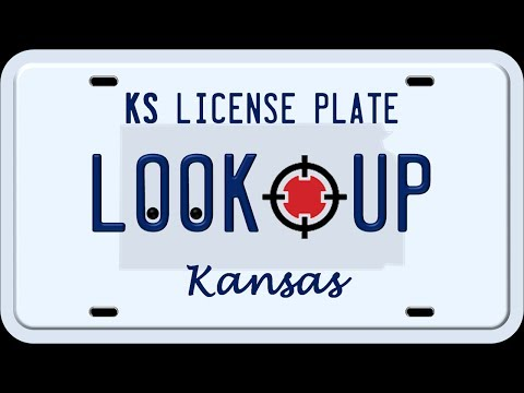How to Search a Kansas License Plate Number